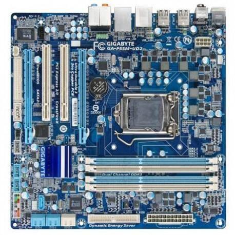 Μητρικη καρτα GIGABYTE GA-P55M-UD2 // 1156 // DDR3